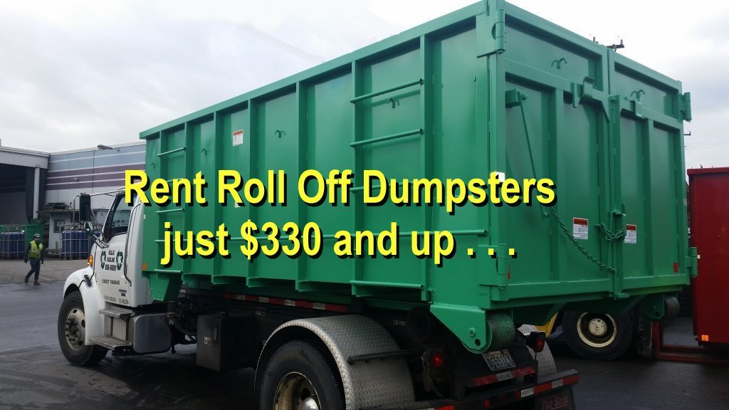 Dumpsters in Gig Harbor.
